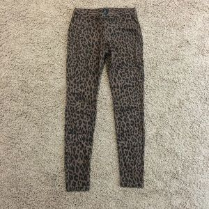 Cheetah Jeggings